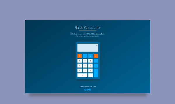 calculator js app
