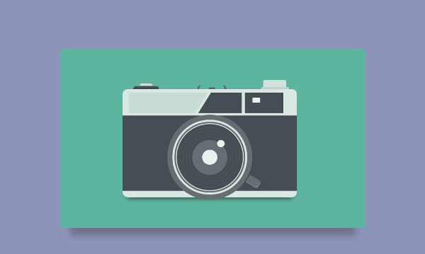 camera CSS illustration